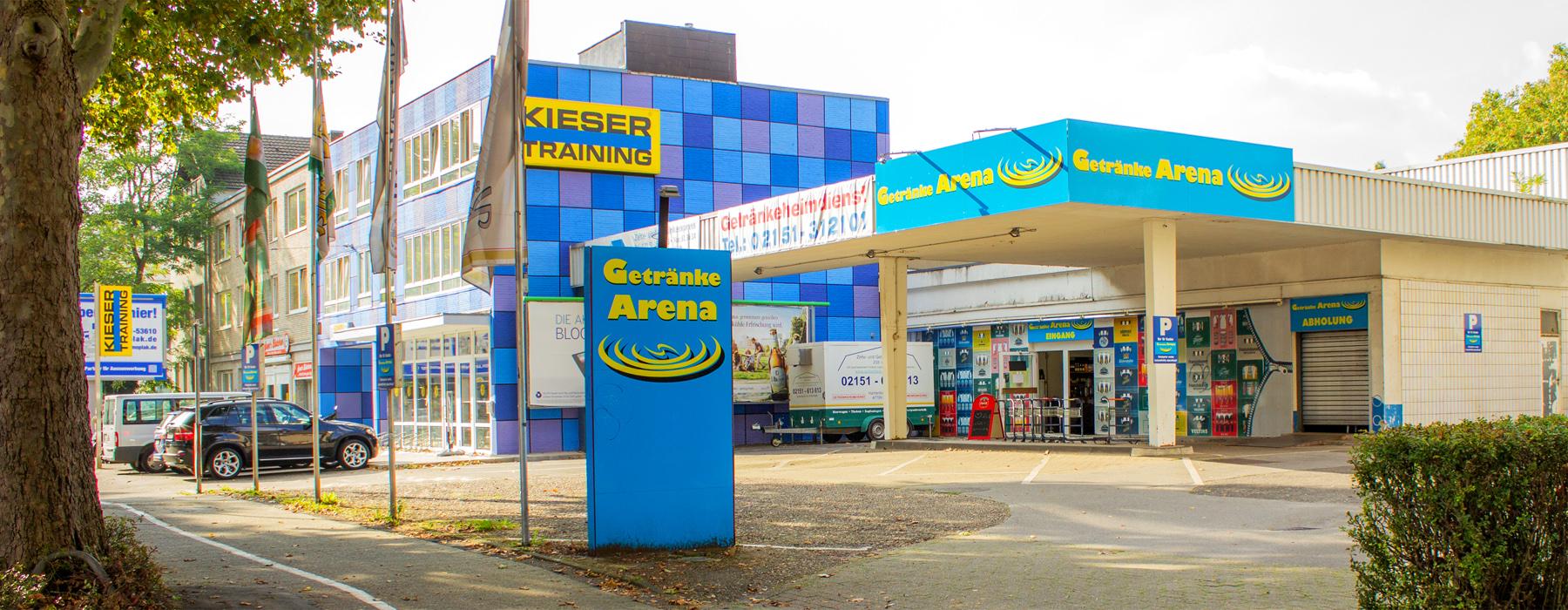 Foto Getränkemarkt Krefeld von aussen